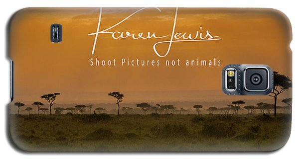 Galaxy S5 Case featuring the photograph New Day On The Mara by Karen Lewis
