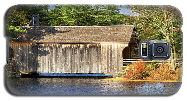 New England Covered Bridge Galaxy S5 Case