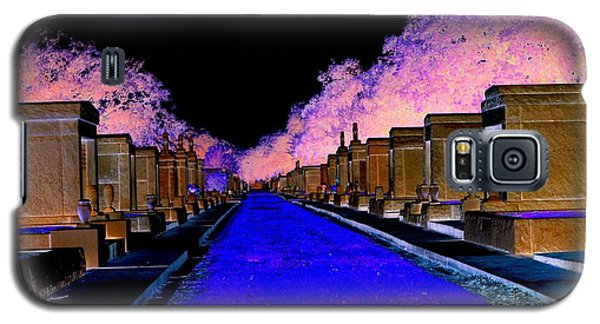 New Orleans Cemetery Galaxy S5 Case by Janice Spivey