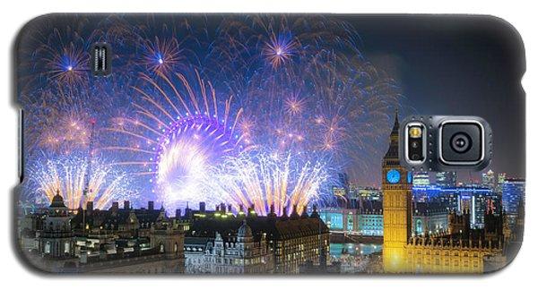 New Year Fireworks Galaxy S5 Case