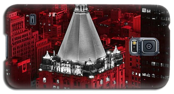 Galaxy S5 Case featuring the photograph New York Life Building by Marianna Mills