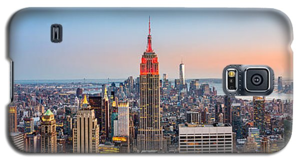 New York Skyline Panorama Galaxy S5 Case