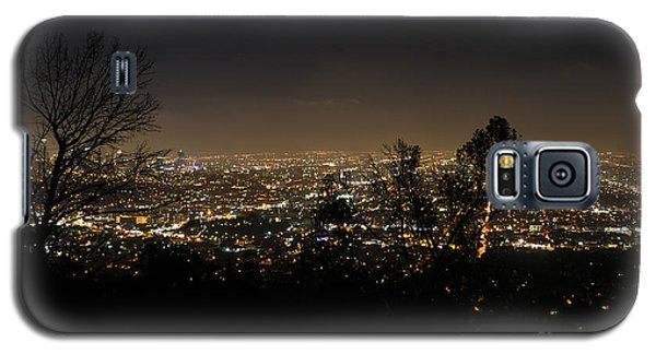 Night At Griffeth Observatory Galaxy S5 Case