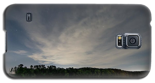 Night Sky Over The Lake Galaxy S5 Case