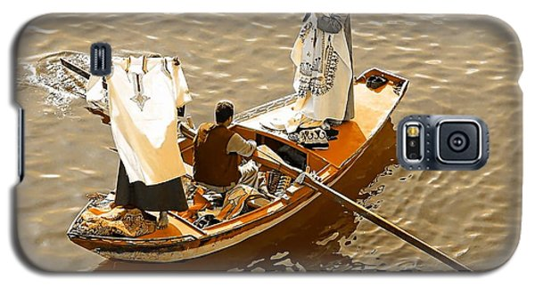 Nile River Merchants Galaxy S5 Case by Joseph Hendrix