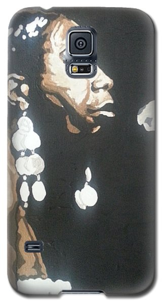 Nina Simone Galaxy S5 Case by Rachel Natalie Rawlins