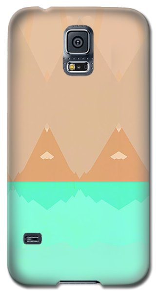 Galaxy S5 Case featuring the photograph No Curves Ahead by Carol Leigh