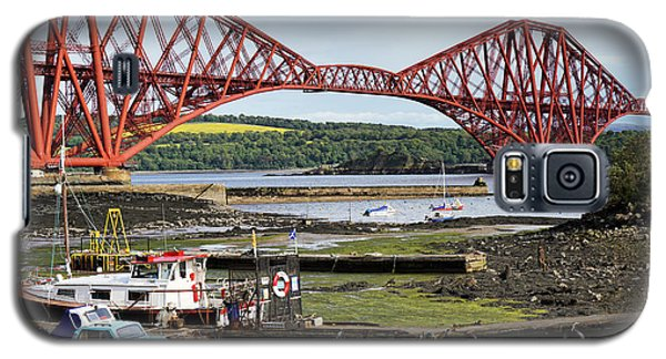 Galaxy S5 Case featuring the photograph North Queensferry by Jeremy Lavender Photography