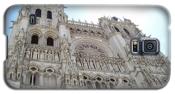 Notre-dame D'amiens Galaxy S5 Case by Mary Mikawoz