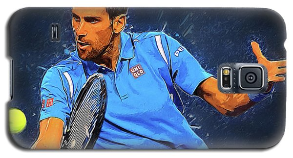 Serena Williams Galaxy S5 Case - Novak Djokovic by Semih Yurdabak