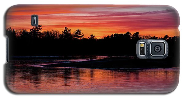 Odiorne Point Sunset Galaxy S5 Case