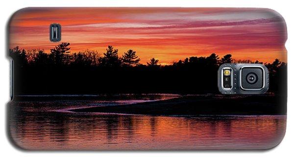 Odiorne Point Sunset Galaxy S5 Case