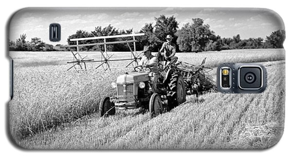 Old Combine Galaxy S5 Case by Larry Keahey