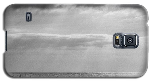 Sky Galaxy S5 Case - Old Hunstanton Beach, Norfolk by John Edwards