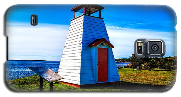 Old Lighthouse Galaxy S5 Case by Rick Bragan
