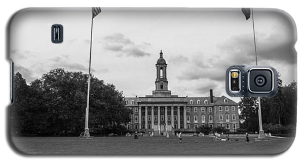 Old Main Penn State Black And White  Galaxy S5 Case by John McGraw