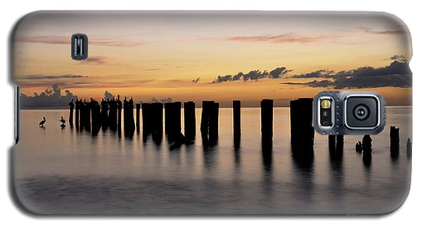 Galaxy S5 Case featuring the photograph Old Naples Pier by Kelly Wade