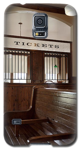 Old Time Train Station Galaxy S5 Case