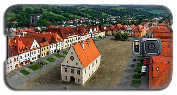 Old Town Square In Bardejov, Slovakia Galaxy S5 Case by Elenarts - Elena Duvernay photo