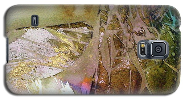 Galaxy S5 Case featuring the painting On Gossamer Wing by Mary Sullivan