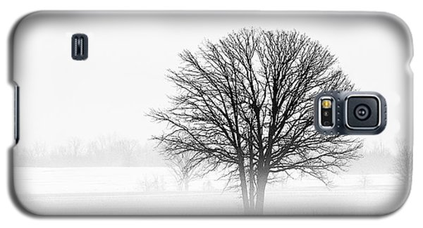 Galaxy S5 Case featuring the photograph One... by Nina Stavlund