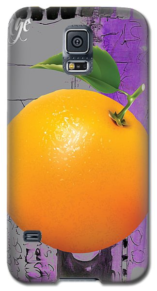 Orange Collection Galaxy S5 Case by Marvin Blaine