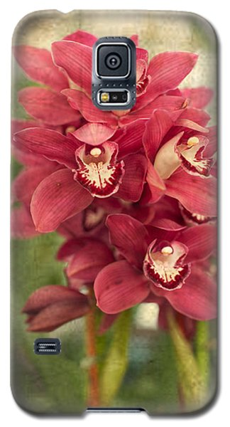 Orchid Galaxy S5 Case by Catherine Lau