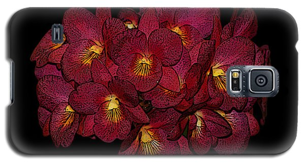 Orchid Floral Arrangement Galaxy S5 Case