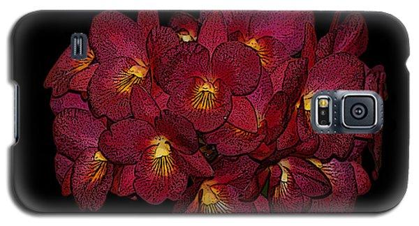 Orchid Floral Arrangement Galaxy S5 Case