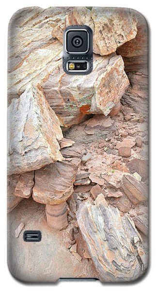 Galaxy S5 Case featuring the photograph Ornate Sandstone In Valley Of Fire by Ray Mathis