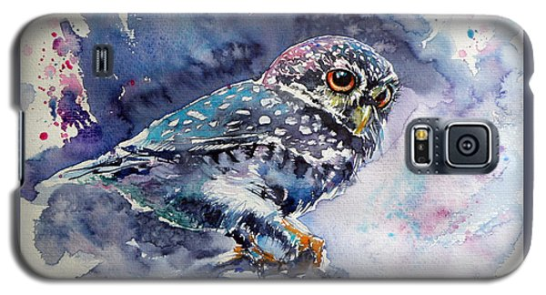 Owl At Night Galaxy S5 Case