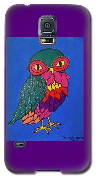 Owl Galaxy S5 Case by Stephanie Moore