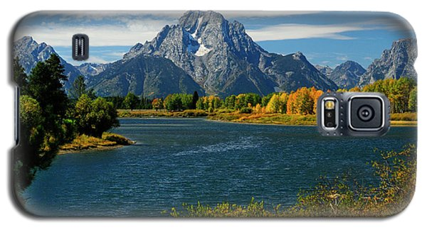 Oxbow Bend In Autumn Galaxy S5 Case