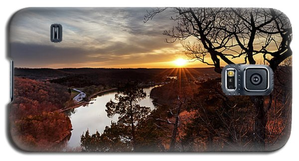 Galaxy S5 Case featuring the photograph Ozark Sunset by Dennis Hedberg