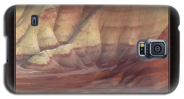 Galaxy S5 Case featuring the photograph Painted Hills Triptych by Leland D Howard