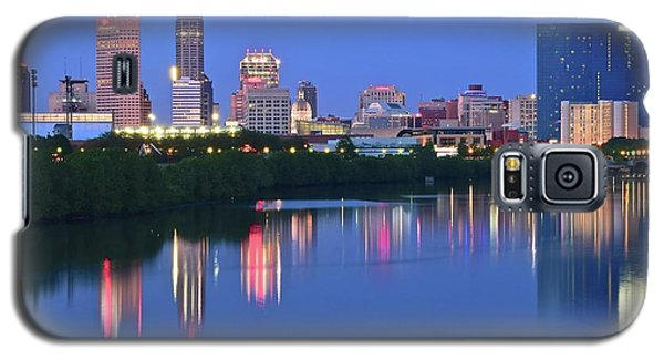 Panoramic Indianapolis Galaxy S5 Case by Frozen in Time Fine Art Photography