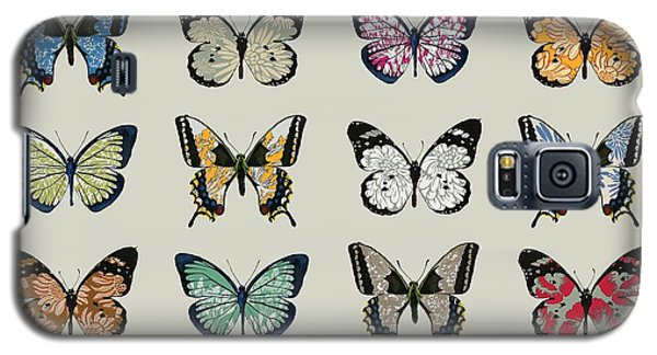 Butterfly Galaxy S5 Case - Papillon by Sarah Hough