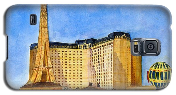 Paris Hotel And Casino Galaxy S5 Case by Vicki  Housel
