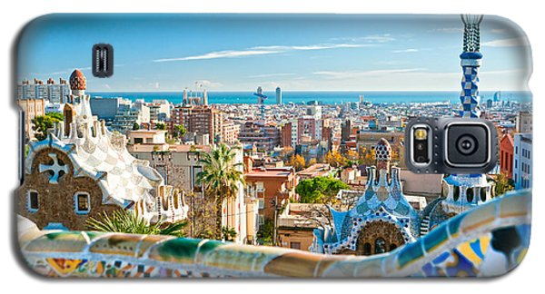 Park Guell Barcelona Galaxy S5 Case by Luciano Mortula