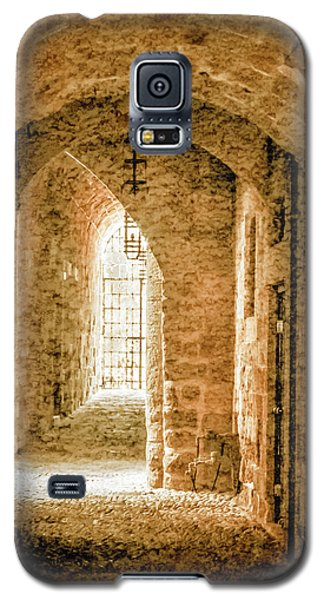 Galaxy S5 Case featuring the photograph Rhodes, Greece - Passage by Mark Forte