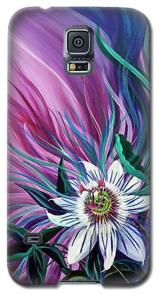 Passion Flower Galaxy S5 Case