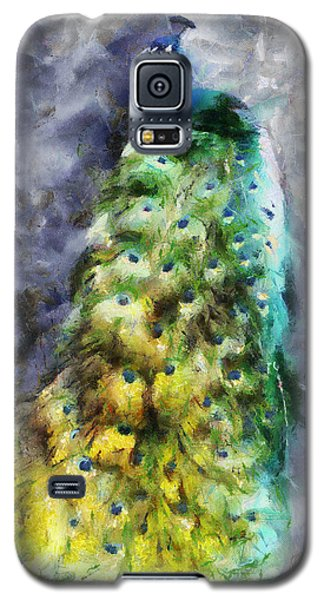 Peacock Portrait Galaxy S5 Case
