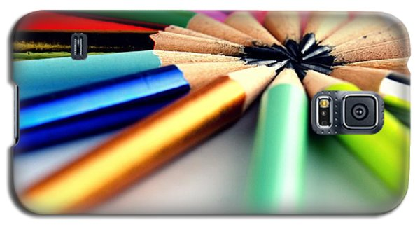 School Galaxy S5 Case - Pencils by Jun Pinzon