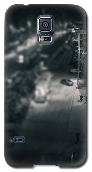 People At Night From Arerial View Galaxy S5 Case