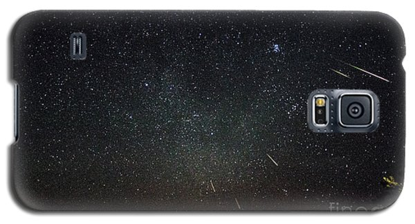 Perseid Meteor Shower Galaxy S5 Case