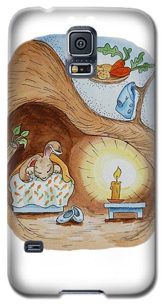 Peter Rabbit And His Dream Galaxy S5 Case by Irina Sztukowski