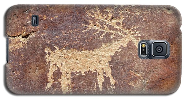 Galaxy S5 Case featuring the photograph Petroglyph - Fremont Indian by Breck Bartholomew