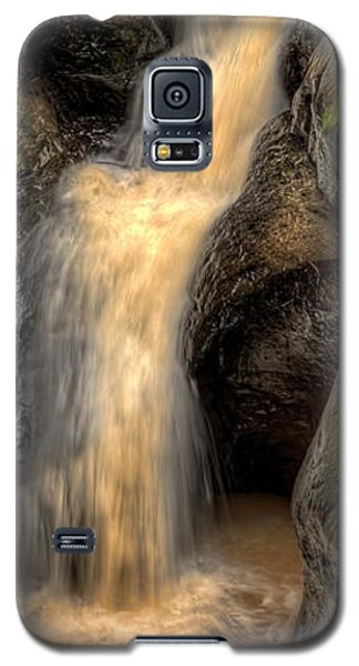 Pewits Nest Middle Waterfall Galaxy S5 Case