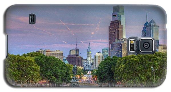 Philadelphia Cityscape Galaxy S5 Case