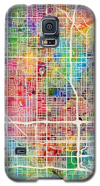 Phoenix Arizona City Map Galaxy S5 Case